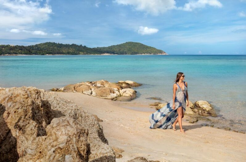 Anantara Lawana Koh Samui Resort-beach