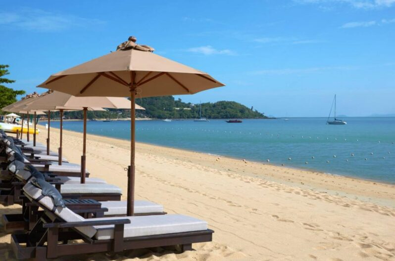 Bo Phut Resort & Spa, Koh Samui, Thailand beach