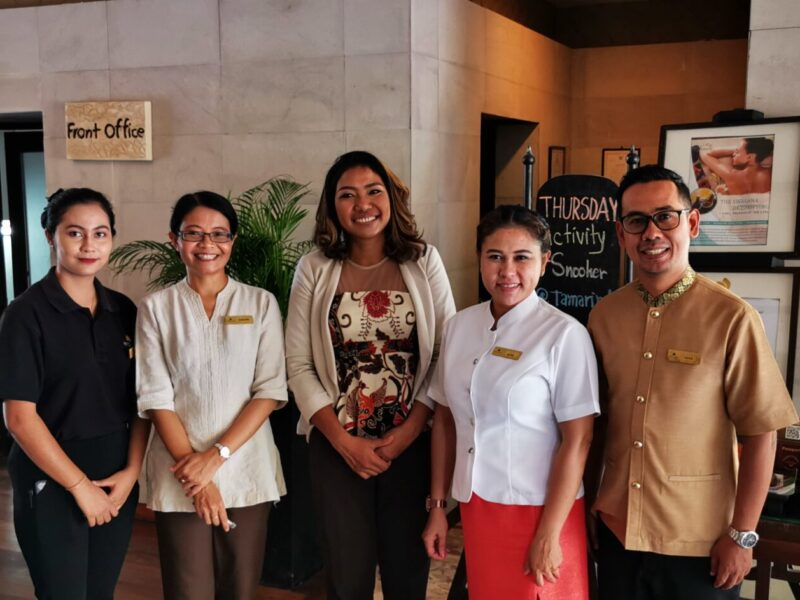 Lovely staff in Impiana Resort