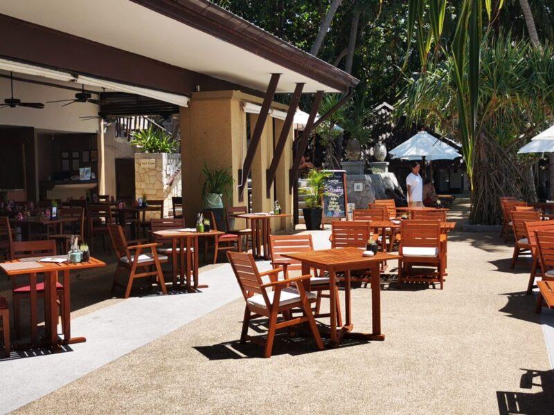Restaurant in Impiana Resort - outside