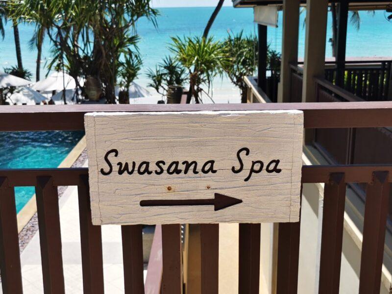 Swasana Spa sign