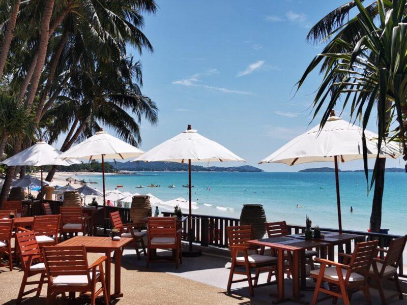 View from restaurant in Impiana Resort