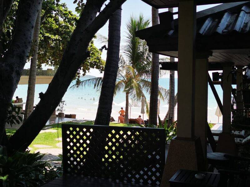 View from superior Cottage in Impiana Resort