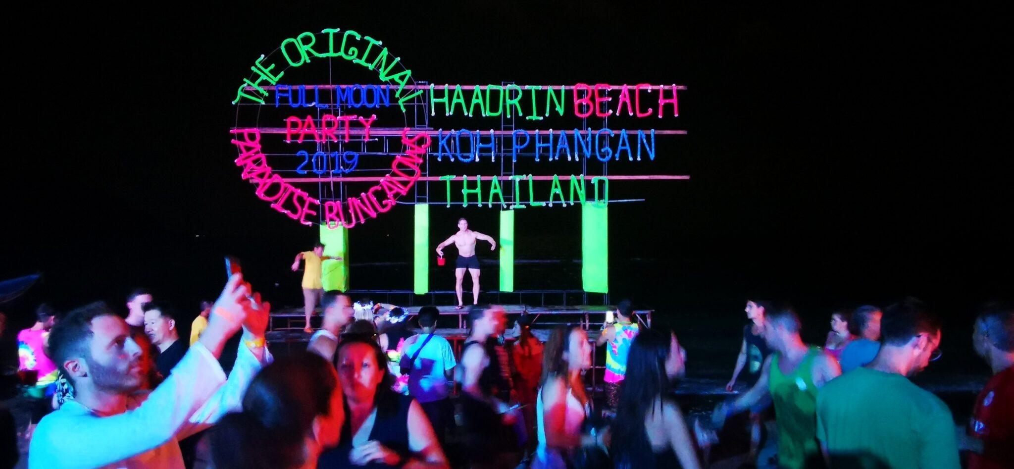 Full Moon Party – Koh Phangan